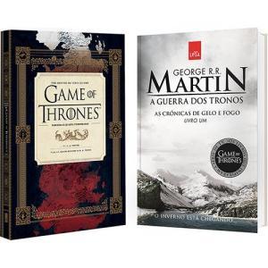 Livro Guia HBO Game of Thrones + Guerra dos Tronos por R$ 9,90