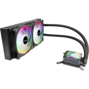 Water Cooler Mymax Algor 240mm AMD e Intel LED RGB Regulável