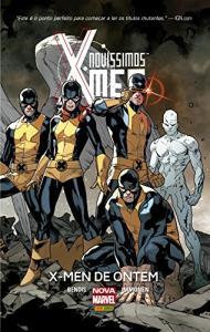 HQ | Novíssimos X-men. X-men de Ontem (capa dura) - R$8