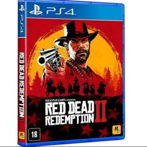 [APP Submarino] Red Dead Redemption 2 - Ps4 (1x cartão submarino + cupom) - R$ 163