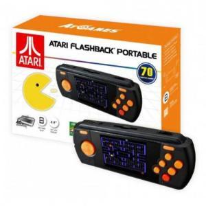 """Console Atari Flashback Portable Tela De 2.8"""" Com 70 Jogos   R$ 179"""