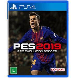 Game Pro Evolution Soccer 2019 - PS4 - R$ 90