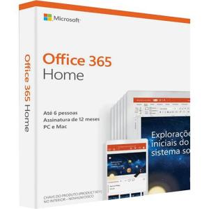 [APP Submarino] Microsoft Office 365 Home - 2019 - R$ 135
