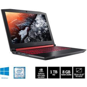 Notebook Gamer Aspire AN515-51-50U2 i5 8GB GTX 1050 4GB