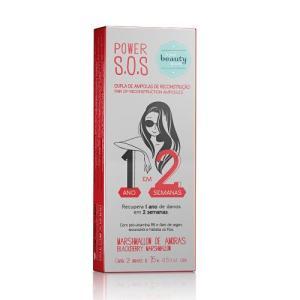 Ampola Reconstrução 2 Passos 2x15ml - The Beauty Box R$14