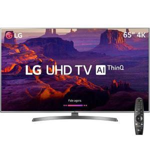 [AME] Smart TV LED 65'' Ultra HD 4K LG 65UK6530 IPS ThinQ AI HDR10Pro + Controle Lg Smart Magic - R$ 5400 (R$ 1080 de volta)