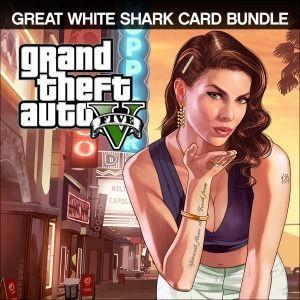 [PS4] Bundle Grand Theft Auto V e Pacote de Dinheiro Tubarão-Branco
