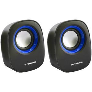 Caixa de Som USB 6w RMS Sp205 Preto/Azul - MyMax - R$10