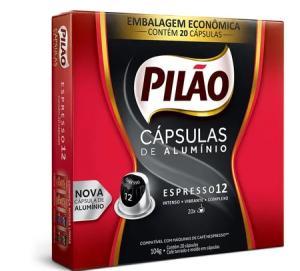 Café Pilão Nespresso 20 Unidades - R$19
