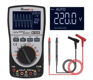 Multímetro digital MUSTOOL MT8206 com funções de Osciloscópio AC/DC 2 - R$163