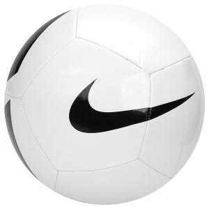 Bola Futebol Campo Nike Pich Team - Branco e Preto