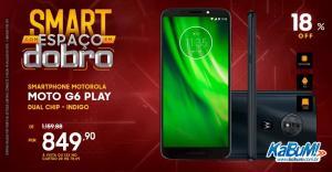 Moto G6 Play | R$ 849 | KABUM