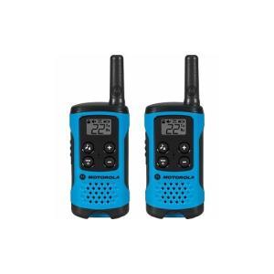 Radio Comunicador Talkabout 25KM T100BR AZUL Motorola   R$165