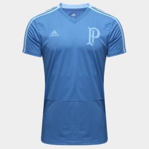 Camisa de Treino Palmeiras Adidas Masculina - Azul - R$71