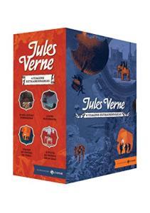 Viagens Extraordinárias – Caixa (Jules Verne)