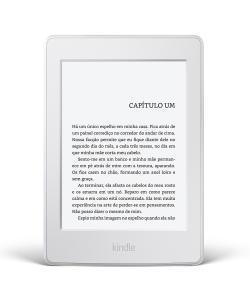 Kindle Paperwhite Amazon Branco, Tela de 6, Wi-Fi, 4GB | R$380