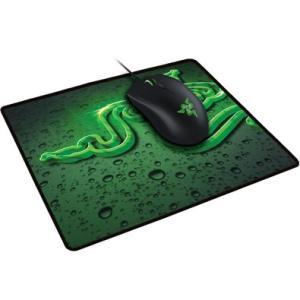 Combo Gamer Razer Mouse Abyssus 2000DPI e Mousepad Goliathus Speed Terra | R$180