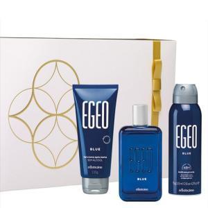 Kit Presente Egeo Blue Natal Boticário - R$ 140