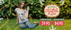 Camisetas e Moletons a partir de R$40 e R$85