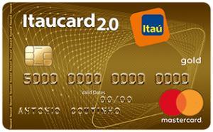 Itaucard 2.0 Gold Mastercard - Anuidade Grátis