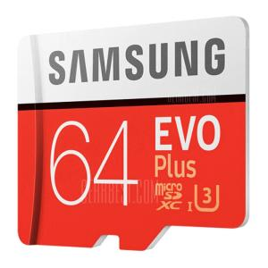 [Compra Internacional] Micro SD Samsung UHS-3 64GB Classe 10 - R$49