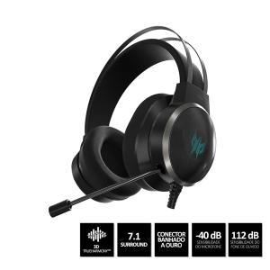 Headset Gamer Acer Predator Galea 500 3D Soundscape - R$880