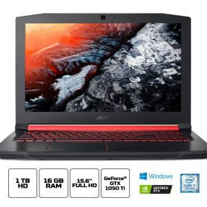 Notebook Aspire Nitro AN515-51-75KZ Intel Core i7 ¿ 7700HQ 16GB (Geforce GTX 1050Ti com 4GB) 1TB Tela IPS Full HD 15,6'' W10 - Acer