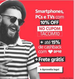 10% OFF em Smartfones, PCs e TVs no submarino