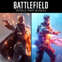 Pacote Battlefield Guerra Mundial(BFV Deluxe+ BF1 Revolution)- PS4