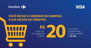 [Loja Física/SP] Ganhe de Volta R$ 20 nas compras acima de R$ 200 no Carrefour