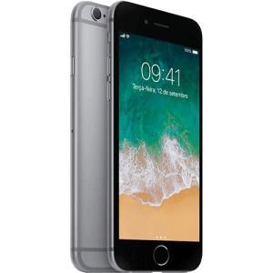 "iPhone 6s 32GB Cinza Tela Retina HD 4,7"" 3D Touch Câmera 12MP - Apple - R$1799 (ou R$1529 com Ame)"