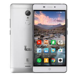 ZTE V5G-K3DX 5,5 Polegada FHD 3000 mAh Gleass 3D Livre 3 GB 32GB MSM8952 Snapdragon 617 4G Smartphone - Prata - R$314