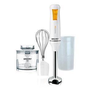 Mixer Mallory Trikxer Inox 3 Em 1 500w Branco - R$90