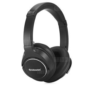 Alfawise JH - 803 Folding Stereo Bluetooth Headphones - BLACK - R$73