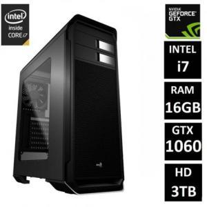 PC Gamer EasyPC Extreme Intel Core i7 16GB (GeForce GTX 1060 6GB) HD 3TB Fonte 80 Plus | R$3.990
