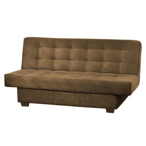 Sofa Cama Matrix Laila B-375 Marrom Dourado - R$532