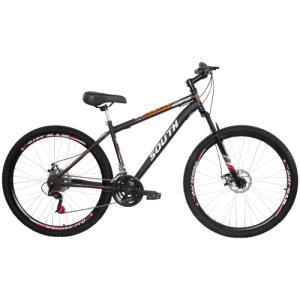 Mountain Bike South Bike Hunter GT - Aro 29 - Freio a Disco Mecânico - 21 Marchas - R$637
