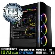 Compre um PC Gamer com processador Intel i7 8700K e ganhe um upgrade para o i9 9900K, na Terabyte Shop
