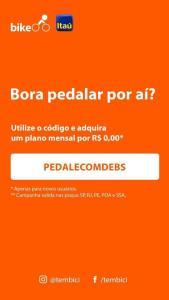 Plano Mensal Bike Itaú Gratuito
