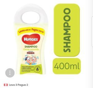 Shampoo Turma da Mônica Chá de Camomila 400ml  Leve 3 pague 2
