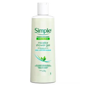Sabonete Líquido Corporal Simple Micellar Shower Gel 250g (Leve 3 pague 2) | R$10