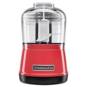 Mini Processador de Alimentos KitchenAid 240W KJA03AV Vermelho - R$349