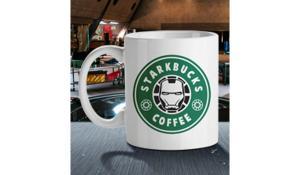 Caneca Starkbucks Coffee - branca | R$38