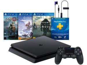 Playstation 4 Slim Hits Bundle 1TB Sony 1 Controle - com 3 Jogos - R$2.089