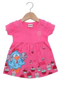 3 vestidos infantis por R$75 na Tricae