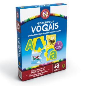 Jogo Aprendendo as Vogais - 2018 - Grow - R$14
