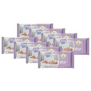 Lenços Umedecidos Huggies Baby Wipes Cheirinho de Lavanda - Kit com 384 Unidades - R$ 47