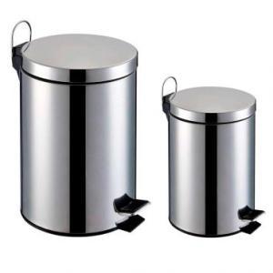 Lixeira Inox - Kit 2 peças capacidade de 3L e 5L - Home&Garden | R$50