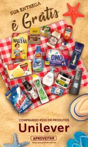 [BH & Região] Frete Grátis na compra de R$50 em produtos Unilever, Clear, Knorr, Dove | Super Nosso Em Casa
