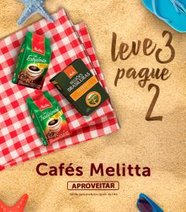 [BH e Região] Leve 3 cafés Melitta e pague 2 - Super Nosso Em Casa